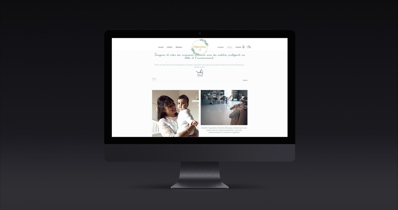 Site web Capuchon