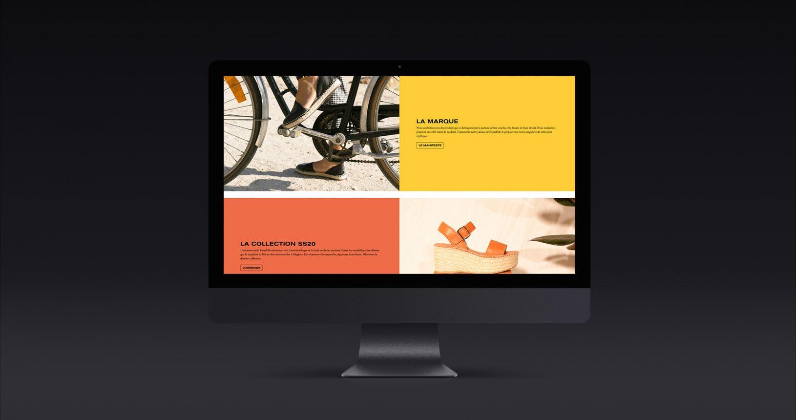 site web Escadrille