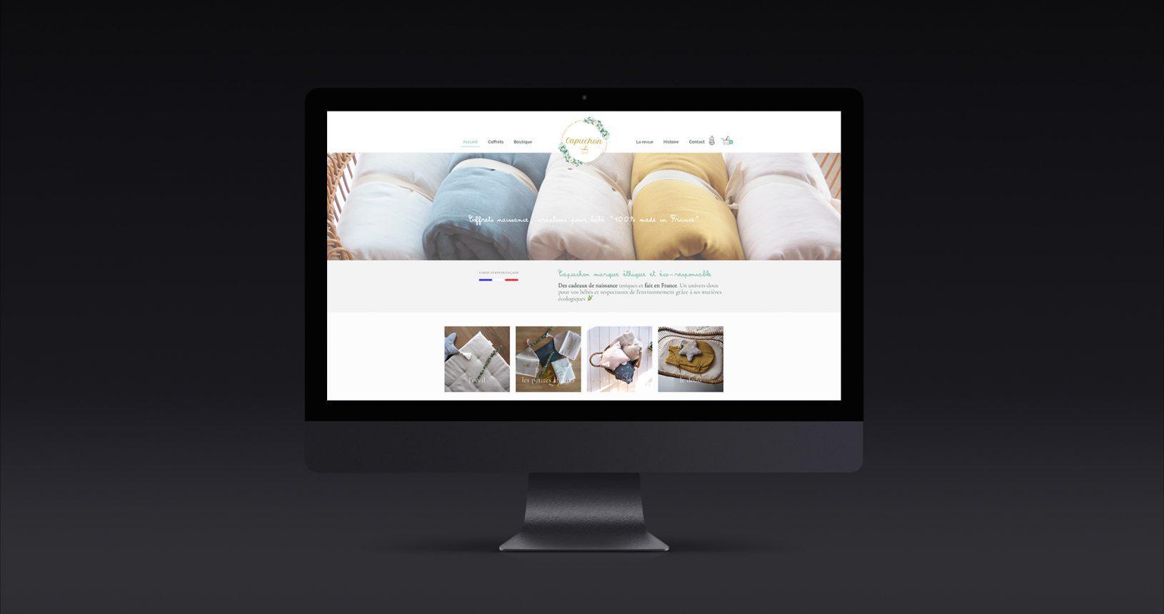 Site web e-commerce Capuchon
