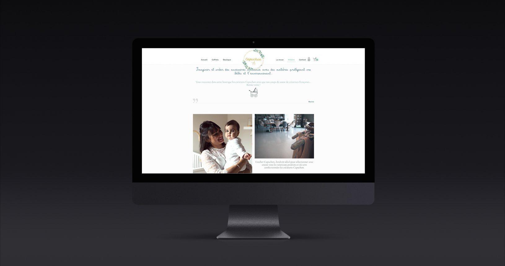 Site e-commerce Capuchon