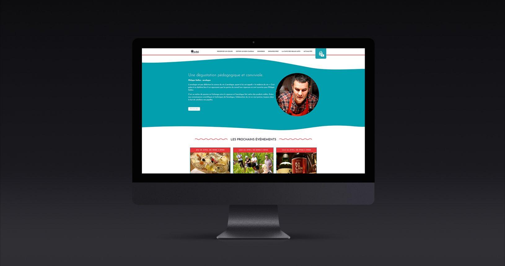 Site internet Oenofeel