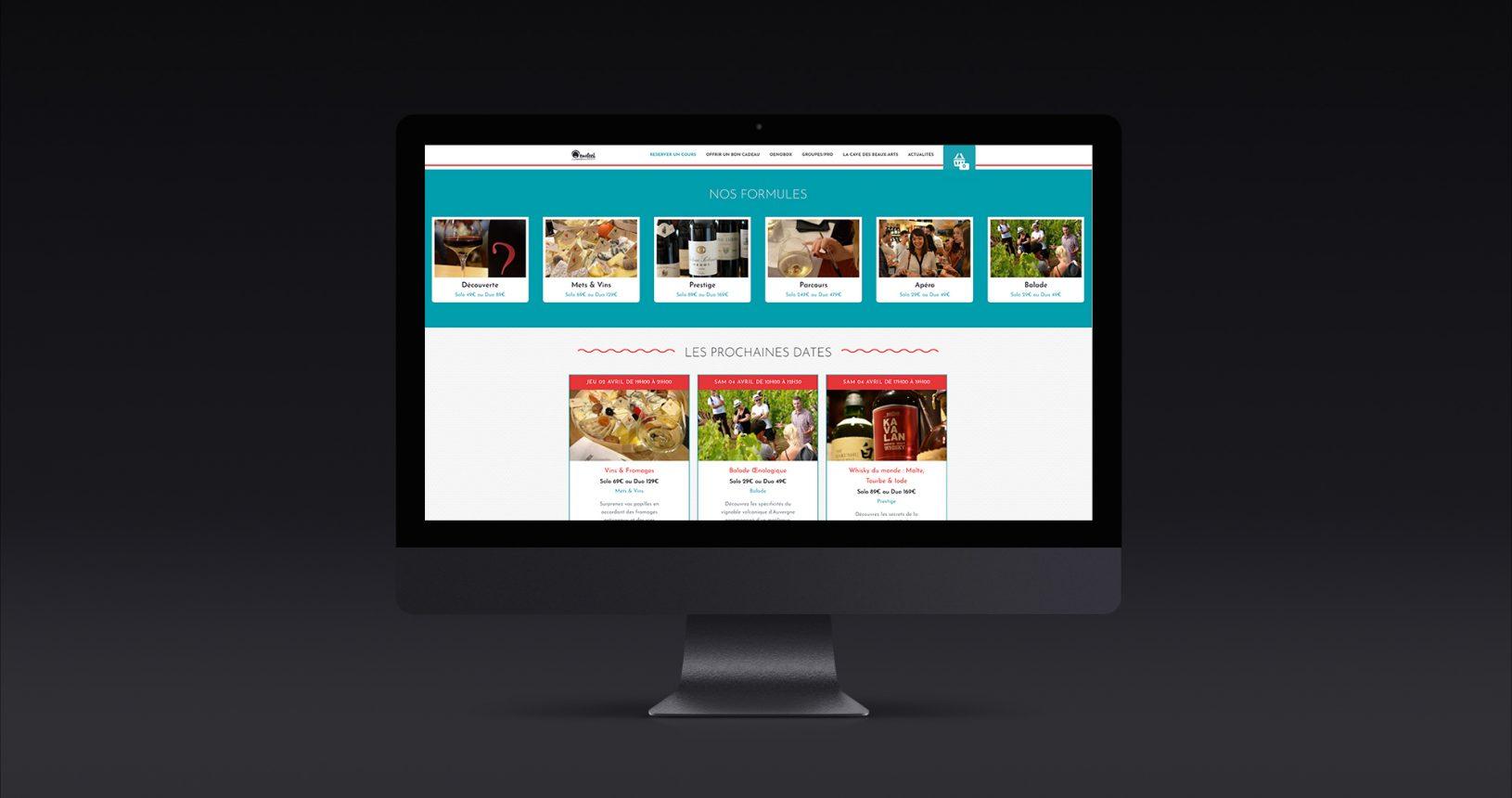 Site e-commerce Oenofeel