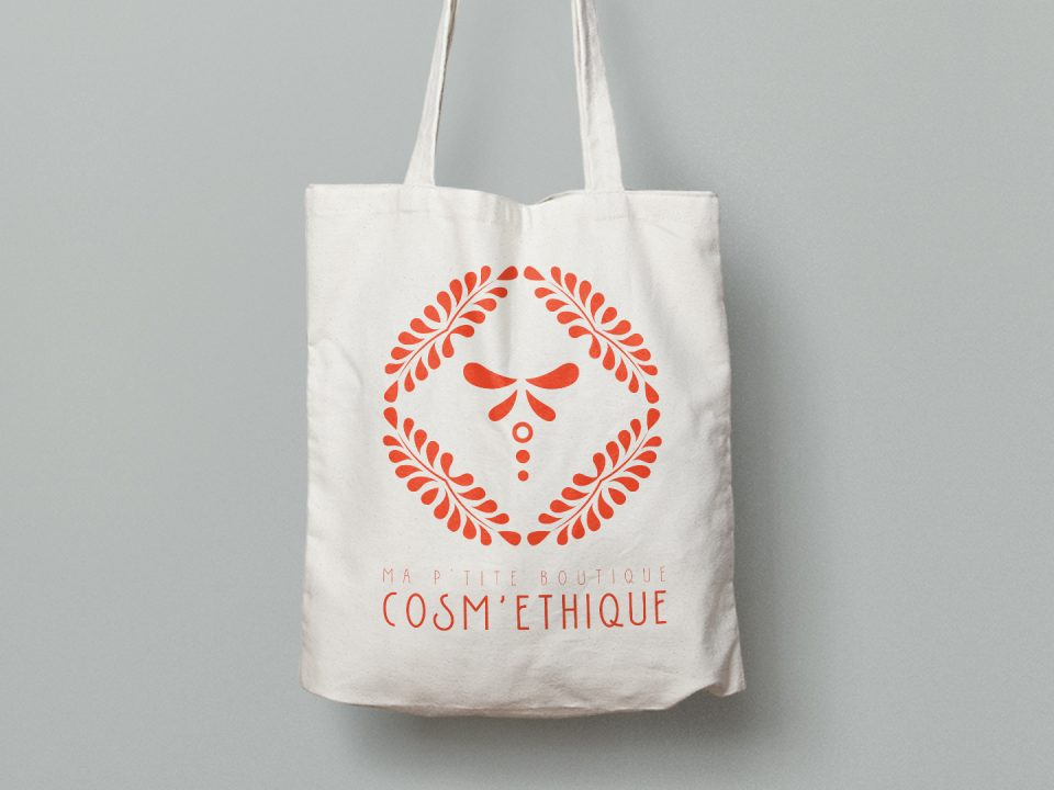Tote Bag Ma p'tite boutique