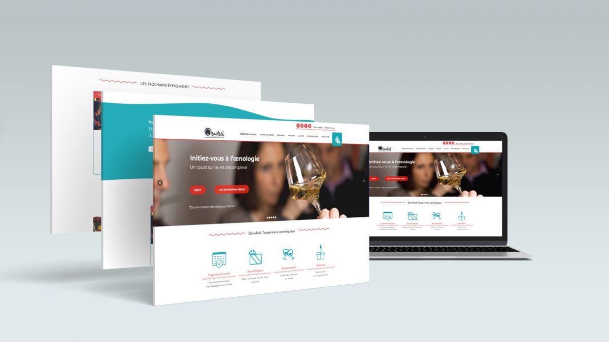 Site web Oenofeel
