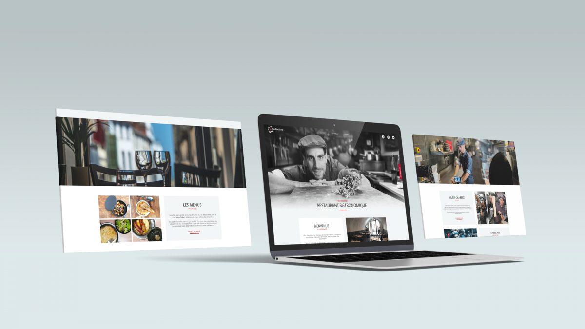 Site internet de L'instantané restaurant